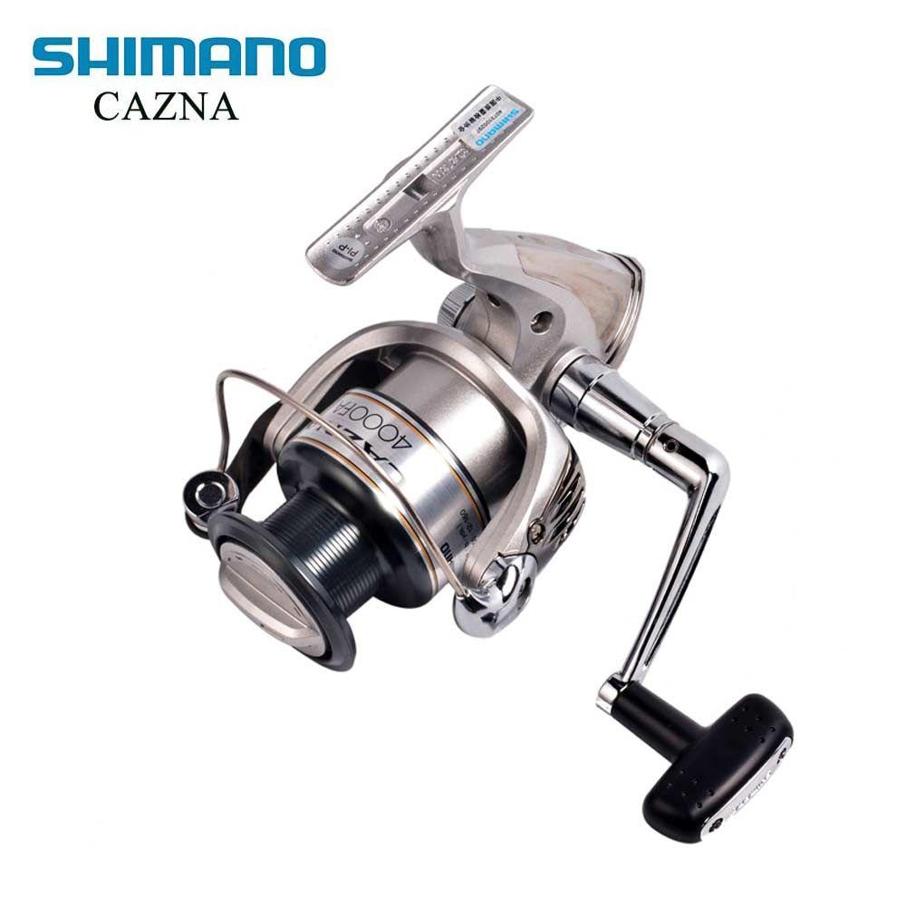 <font><b>SHIMANO</b></font> CAZNA 2500FA/4000FA Spinning Fishing Reel 3+1BB with AR-C Spool Rigid Body Spinning Fishing Reel