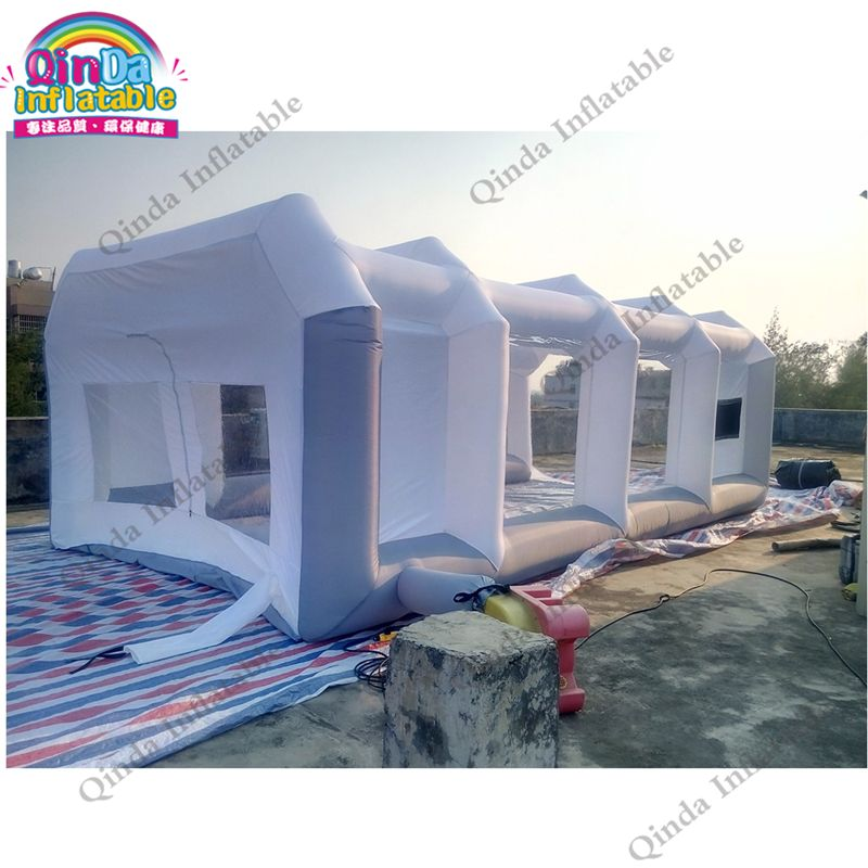 6m*4m*2.5m Hot Sale Portable Car Garage Inflatable Spray Paint Booth oxford car polishing inflatable spray booth