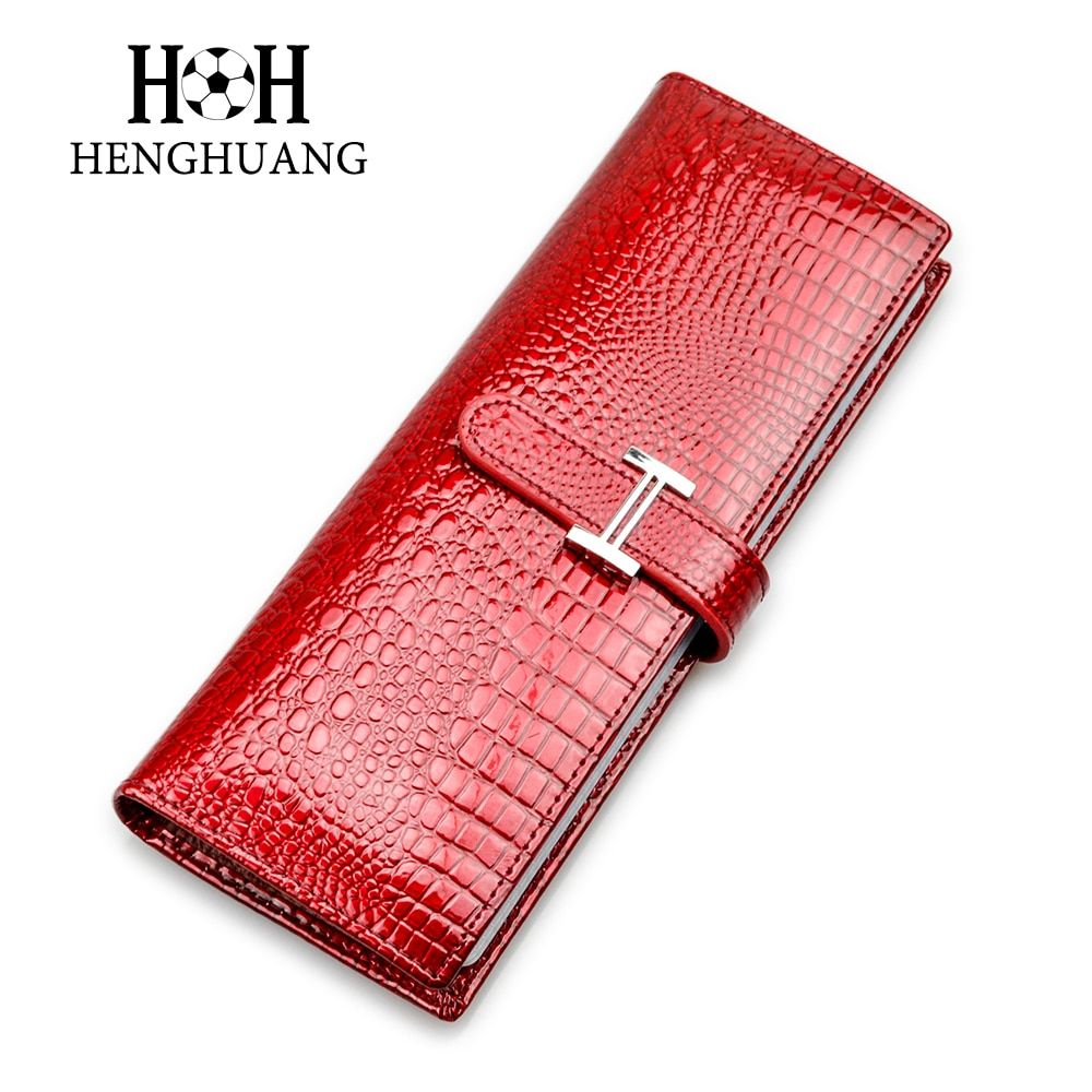 HH Genuine Leather Cards Holders Women Man Card Holder Business Luxury Alligator Name ID Card Case Clutch Cards Bags