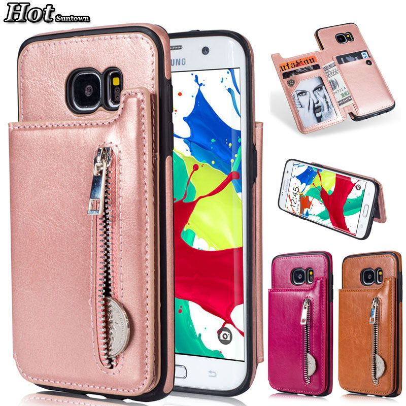 S7 Case For Telefoonhoesjes Samsung Galaxy S7 Case Flip Phone Cover Funda Samsung S7 Edge Case Leather Wallet Luxury Phone Cover