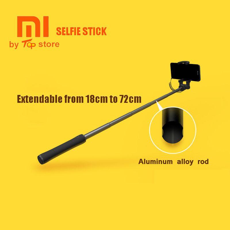Monopode filaire de poche extensible de bâton de Selfie de Xiao mi Xio mi pour le SmartPhone d'ios Android