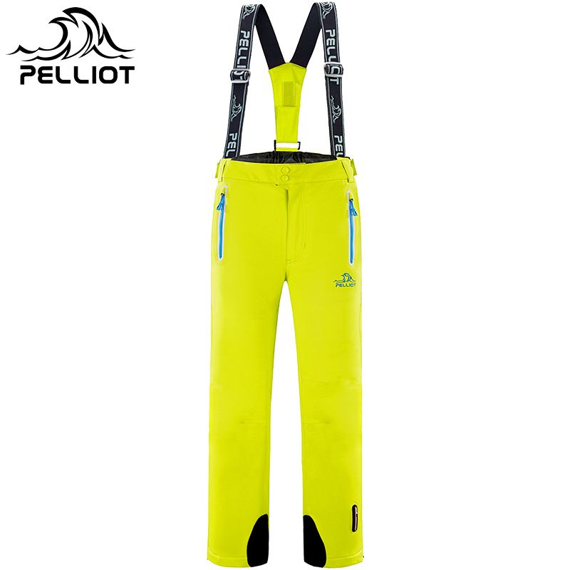 2018 New Breathable Men's Ski Pant Outdoor Waterproof Hiking or Camping Pant for Men Male Skiing and Snowboard Trousers