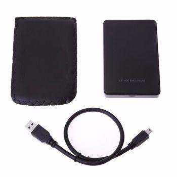 2.5 pouce USB 3.0 à SATA Externe HDD Disque Dur Disque Dur Boitier SATA Hard Drive Enclosure Soutien disque dur jusqu'à 2 TB