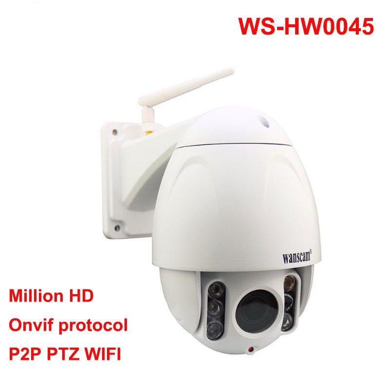 Wanscam HW0045 HD 1080 P PTZ 5X Zoom Hi3516C ONVIF X Dome P2P WiFi Ip-kamera
