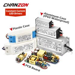 LED Driver 1W 3W 5W 10W 20W 30W 36W 50W 100W 300mA 600mA 1 3 5 10 30 50 100 W Watt Waterproof Lamp Chip Lighting Transformers