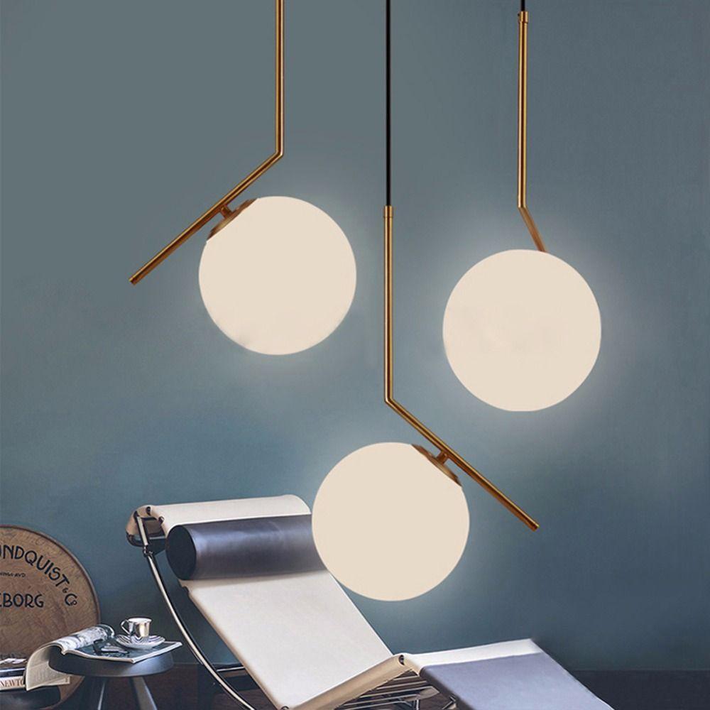 Modern Pendant Lights Glass Suspension Luminaire Bedroom Loft Retro E27 Lamp Industrial Home Decoration Lighting Fixture