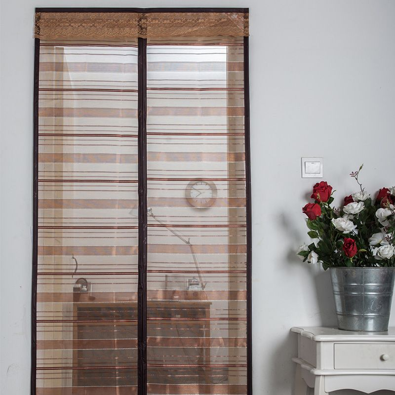 Streifen Anti-mücken-bildschirm Magnetische Net Auf der Tür Automatisch Geschlossen Tüll Sommer Küche Mesh Vorhang Fenster mosquitera puerta
