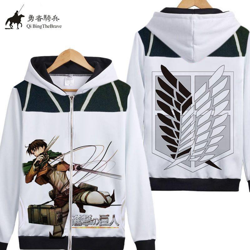 Japan Anime Angriff auf Titan Cosplay hoodie Shingeki kein Kyojin Kapuzenpulli Jaqueta Maculina Herbst Fleece reißverschluss Mantel 07130
