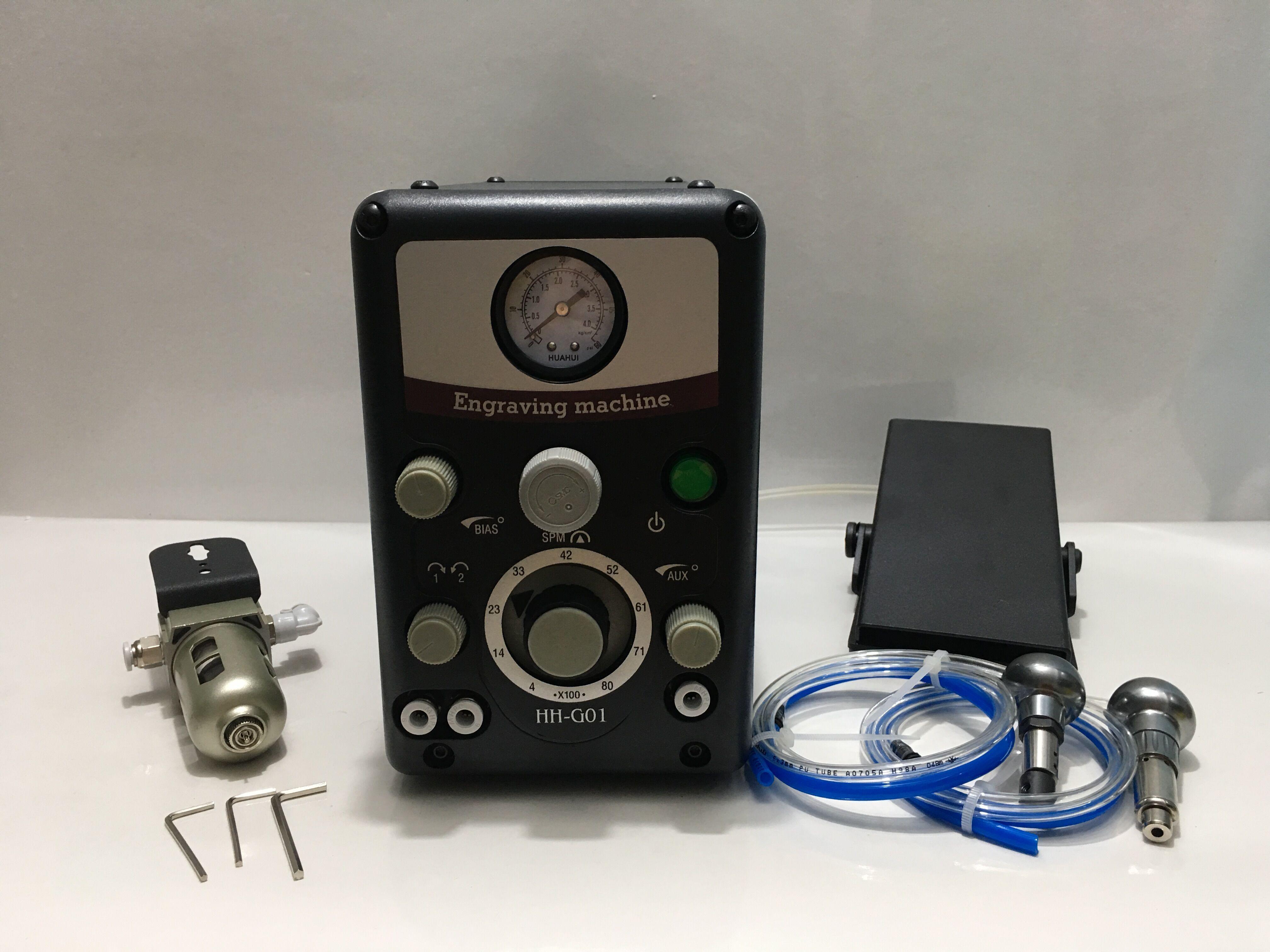 Neue Typ 0-8000 hübe/min Pneumatische Gravur Werkzeuge Schmuck Gravur maschine Stichel maschine Bewertet 4,7/5 b