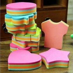 100 Pages Multicolore Sticky Notes Mignon Bureau Amour Blocs-Notes Autocollant Post It Bookmark Marker Drapeaux Autocollant Planificateur Briefpapier