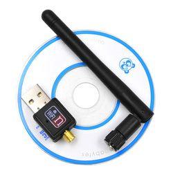 Besegad 150 Мбит/с USB Wifi адаптер мини беспроводная сетевая карта lan 802.11b/g/n MT7601 Wlan PC Wi-Fi Dongle антенна приемника Wi-Fi