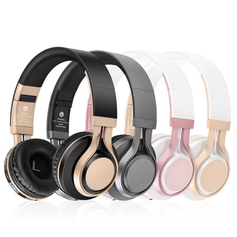 BT-08 BT-09 casque sans fil Bluetooth casque écouteur casque écouteurs écouteurs avec Microphone pour PC téléphone mobile musique