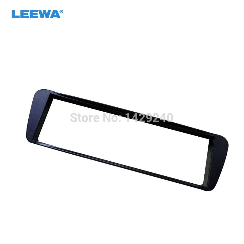 LEEWA Car refitting DVD frame top quality radio installation dash mount kit stereo install for CITROEN Xsara Picasso 99-10 1-DIN