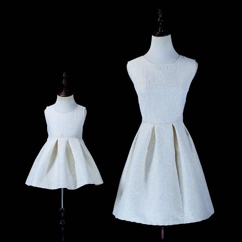 Осенняя семейная одежда для детей праздничный сарафан для девочек 12m-16y женские 3xl для мамы платья для девочек Для мамы и дочки платье