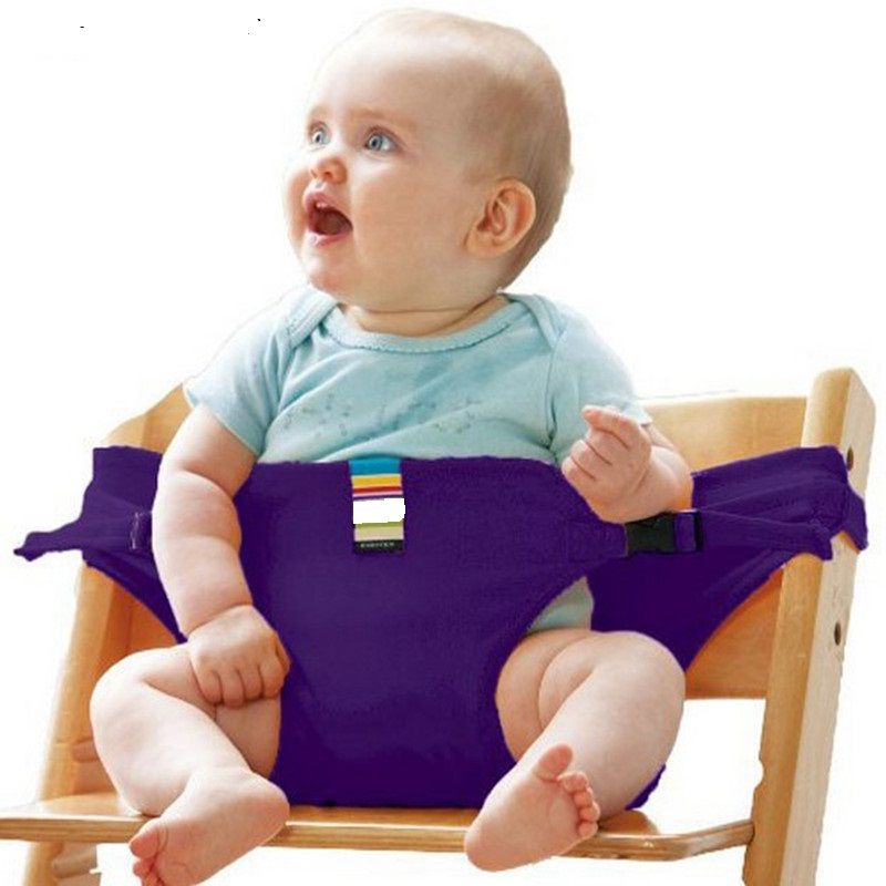 2016 Direct Selling Hot Sale Baby Chair Portable Infant Seat Product Dining Lunch Chair/seat Safety Belt Feeding High Harness