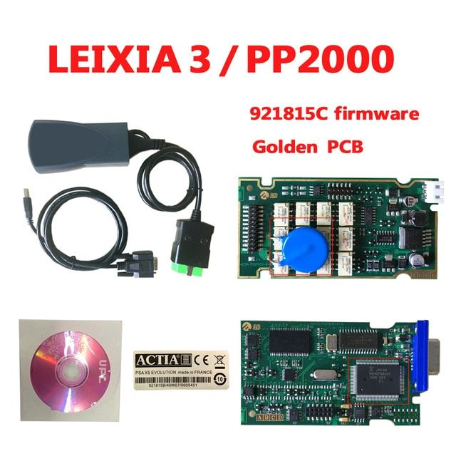 Lexia 3 PP2000 with 921815C Firmware Lexia-3 V48 PP 2000 V25 Diagbox 7.83 Lexia3 PP2000 For C-itroen For P-eugeot