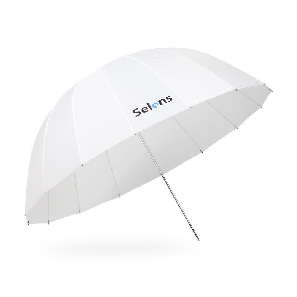 Selens 105 cm 130 cm 165 cm Parabolischen Lichtdurchlässige Weiß Regenschirm für Speedlite Studio-blitz-weiche Beleuchtung Diffusor w/Tragetasche