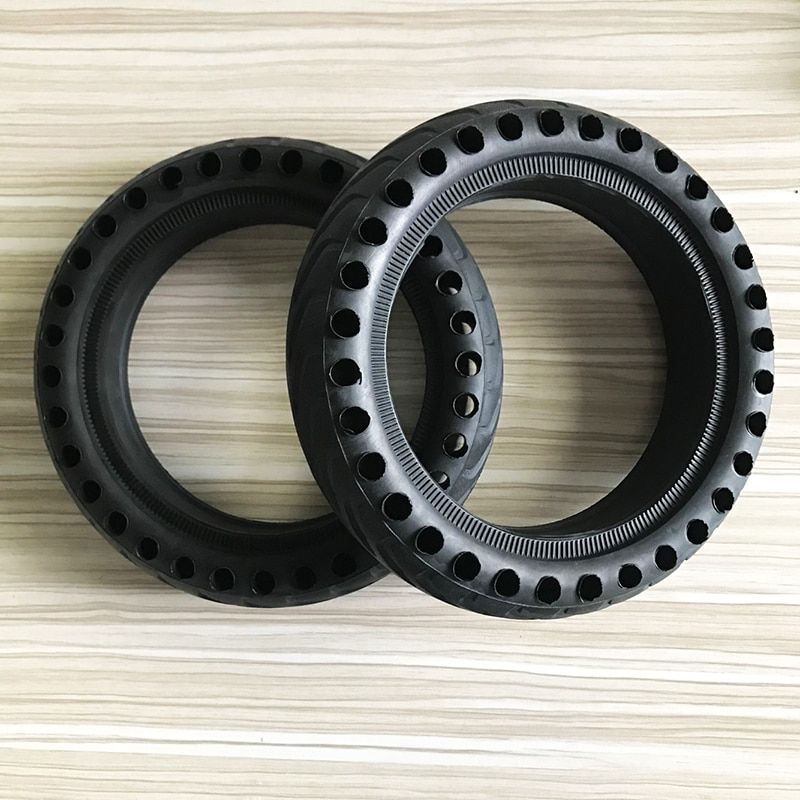 Xiaomi Mijia M365 Scooter Skateboard Tyre Solid Hole Tires Shock Absorber Non-Pneumatic Tyre Damping Rubber Tyres Wheels Durable