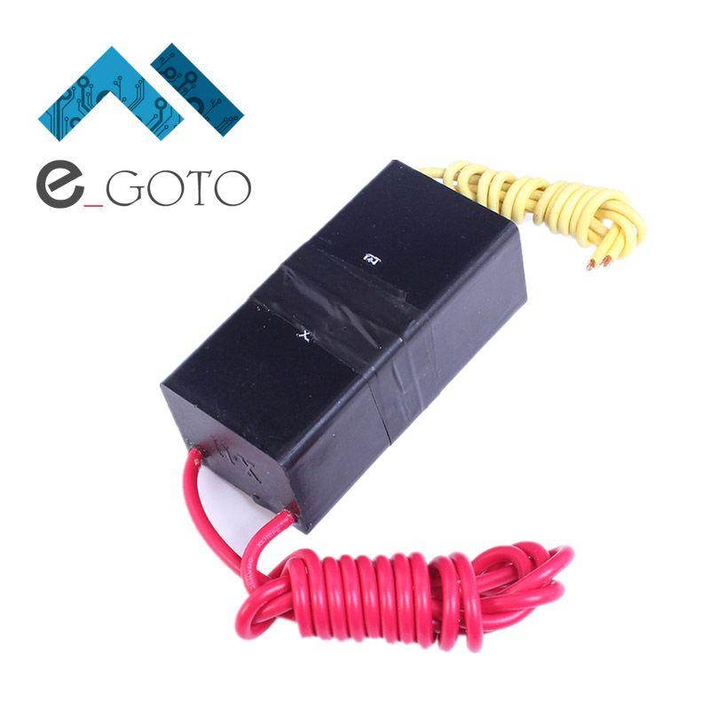 DC 12V Universal High Voltage Generator Pulse Ignition Coil Module 60KV 0.5-1A Arc Inverter