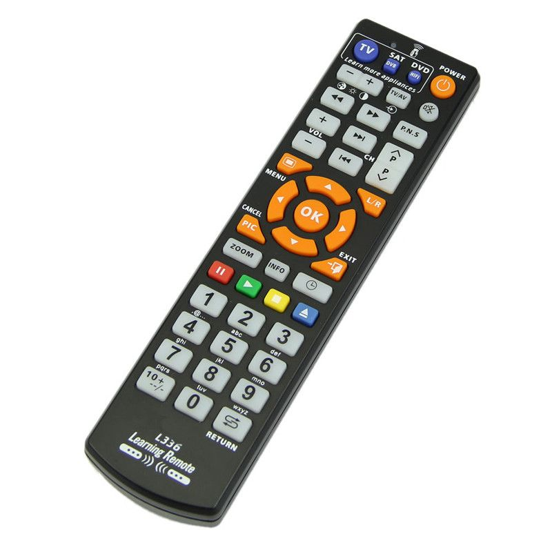 2017 New Universal Remote Control With Learn Function High Quality Replacement Remote Controller Suitable For Smart TV DVD SAT