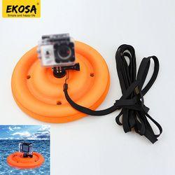 EKOSA Floating Base For GoPro Hero 5 6 4 3 Xiaomi Yi 4K Mijia 4K Go pro 5 6 4 Sjcam Sj4000 Sj5000 Eken H9 H9R Mount Accessories