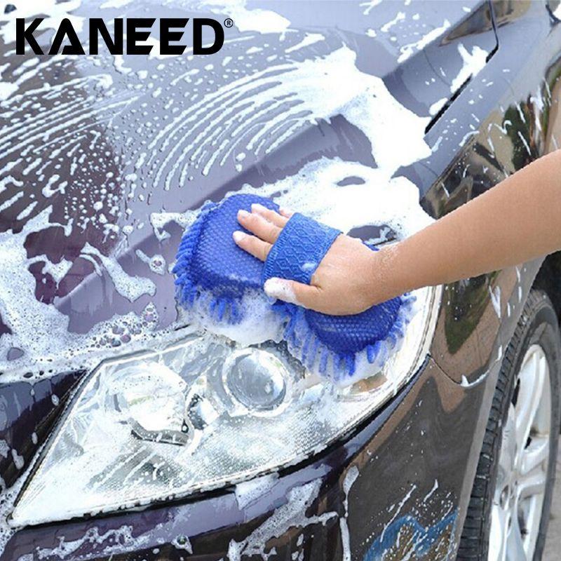 Car Accessories 21*11cm Ultrafine Fiber Chenille Anthozoan Car Washing Gloves Multi-functional Magic Car Brush Cleaning cloth