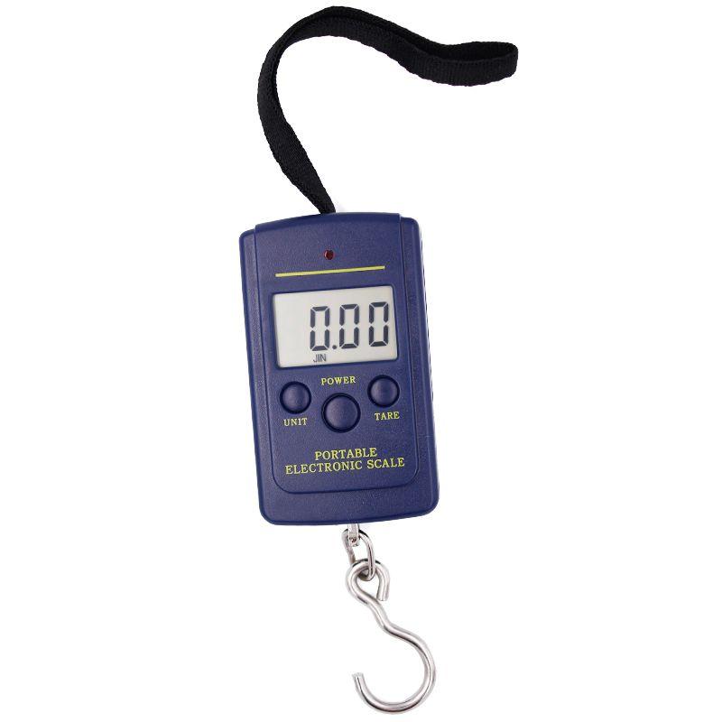 40 kg digital waage 40 kg/10g Elektronische Bewegliche Digital gepäck gewicht Fisch Haken Hängen skala 15% off