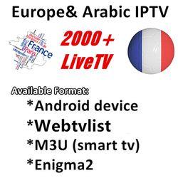 Nous avons 6/12 Mois 2000 + Live TV IPTV M3U ENIGAM2 Androd IPTV ITALIE Allemand Français Espagne TR ROYAUME-UNI Abonnement Pour TV BOÎTE