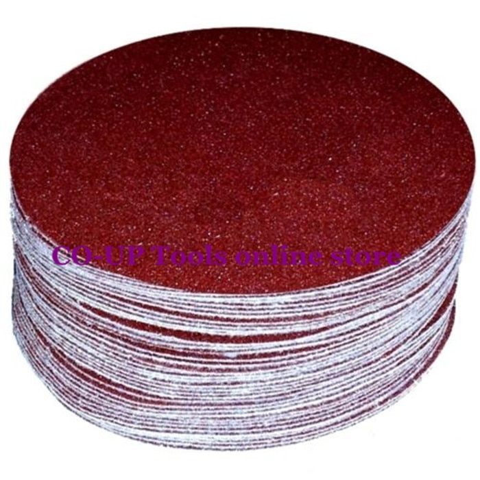 125mm Hook & Loop Abrasive Sand Paper Sanding Disc with Grits 40~2000