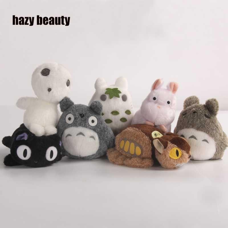Beauté brumeuse pour chihiro peluche TOTORO Princesse Mononoke Studio Ghibli Miyazaki Marionnettes En Peluche Jouets Doux Poupées animation poupée