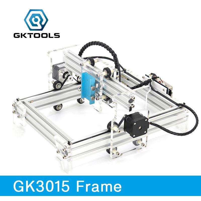 GKTOOLS 500mW 2500mW 5500mW 20*13cm Mini CNC Wood Laser Engraver Cutter Engraving Machine DIY Acrylic,PWM,Benbox GRBL EleksMaker