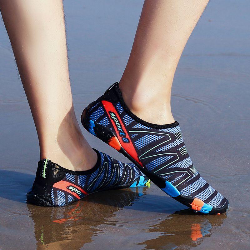 2018 Men Outdoor Sneaker Shoes for swimming pool shoes women fishing <font><b>aqua</b></font> water shoes diving wading barefoot beach shoes 45