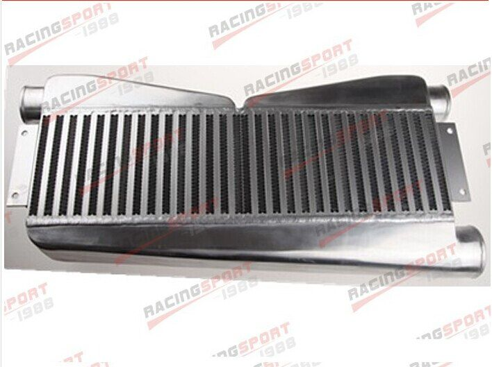 Universal Twin Turbo Intercooler 2-In 1-Out ALL FIT BPINT-2260B