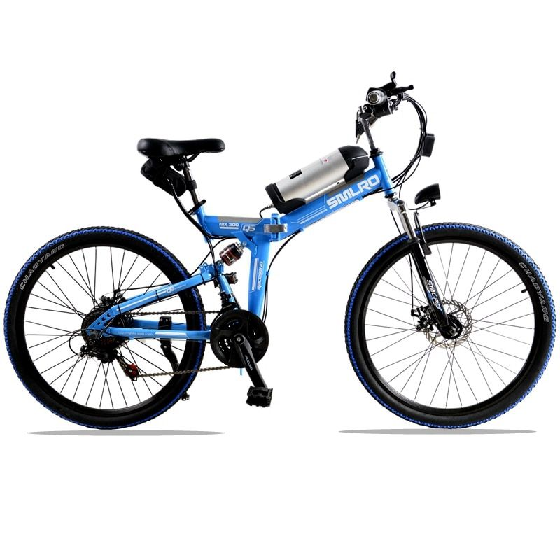 bicycle road bike 350 W 36 V Folding electric bike 21 speed 10 AH electric mountain bike electric bicycle 26 inch Mountain Bike
