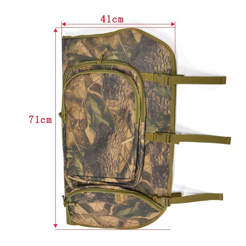 71*41cm Archery Compound Bow Bag 600D Nylon Two Shoulder Straps Backpack Carry Case Holder Arrow Bow Accessories