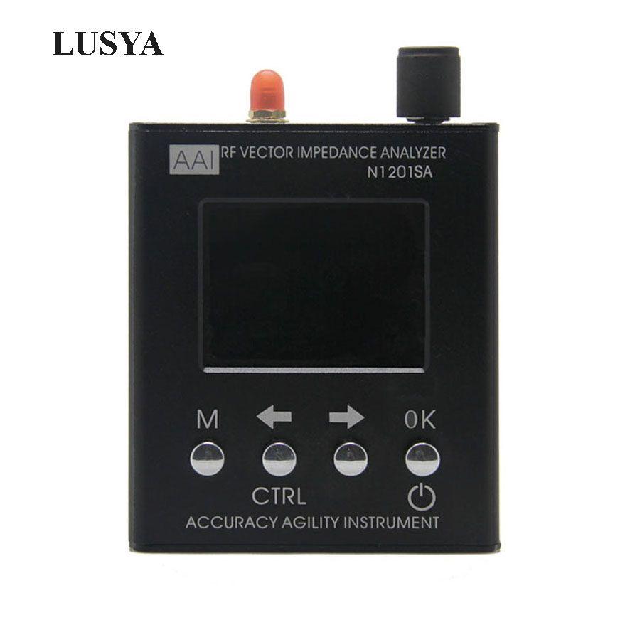 Lusya English verison N1201SA 140MHz-2.7GHz UV RF Vector Impedance ANT SWR Antenna Analyzer Meter Tester 140MHz - 2.7GHz
