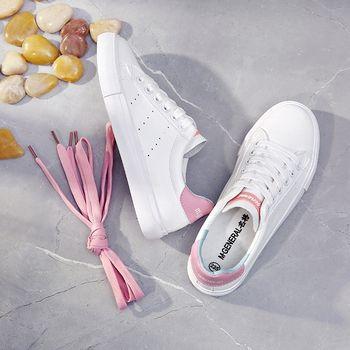 M. GÉNÉRAL Femmes Casual Chaussures 2018 Été Nouvelle Femme Chaussures En Cuir Couleur Mélangée Mode Sneakers Zapatillas Deportivas Mujer 35-40