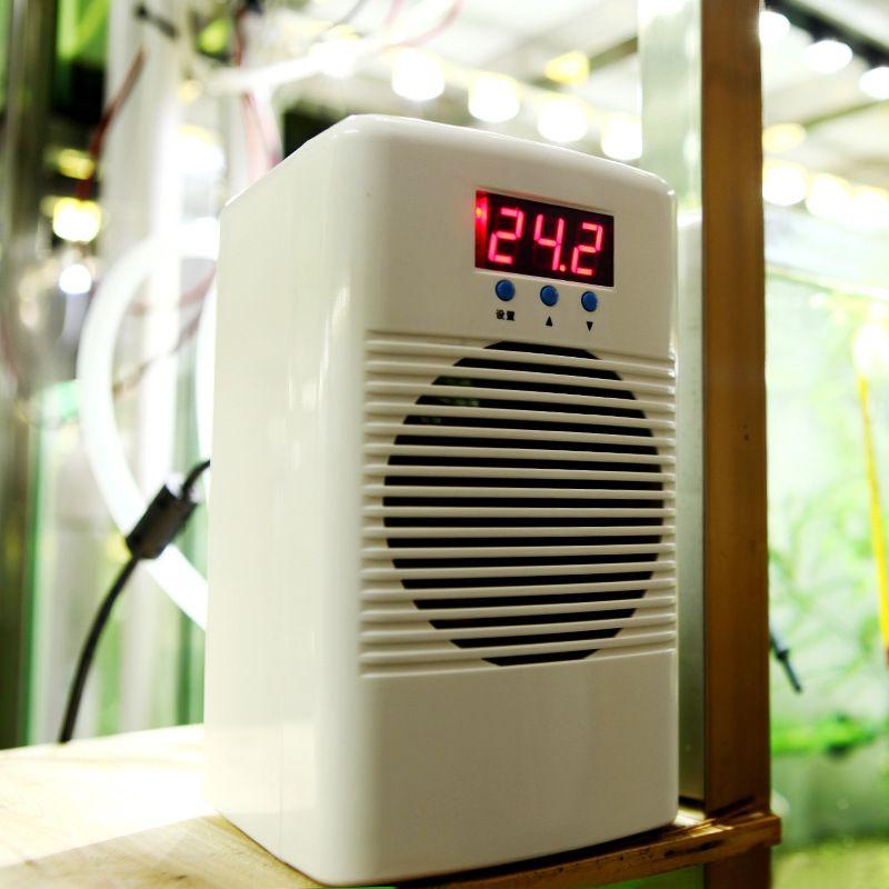 100W 110-240v Aquarium Water Chiller Warmer & Cooler Temperature Conditioner For Fish Tank Coral Reef Shrimp Tank Below 30L