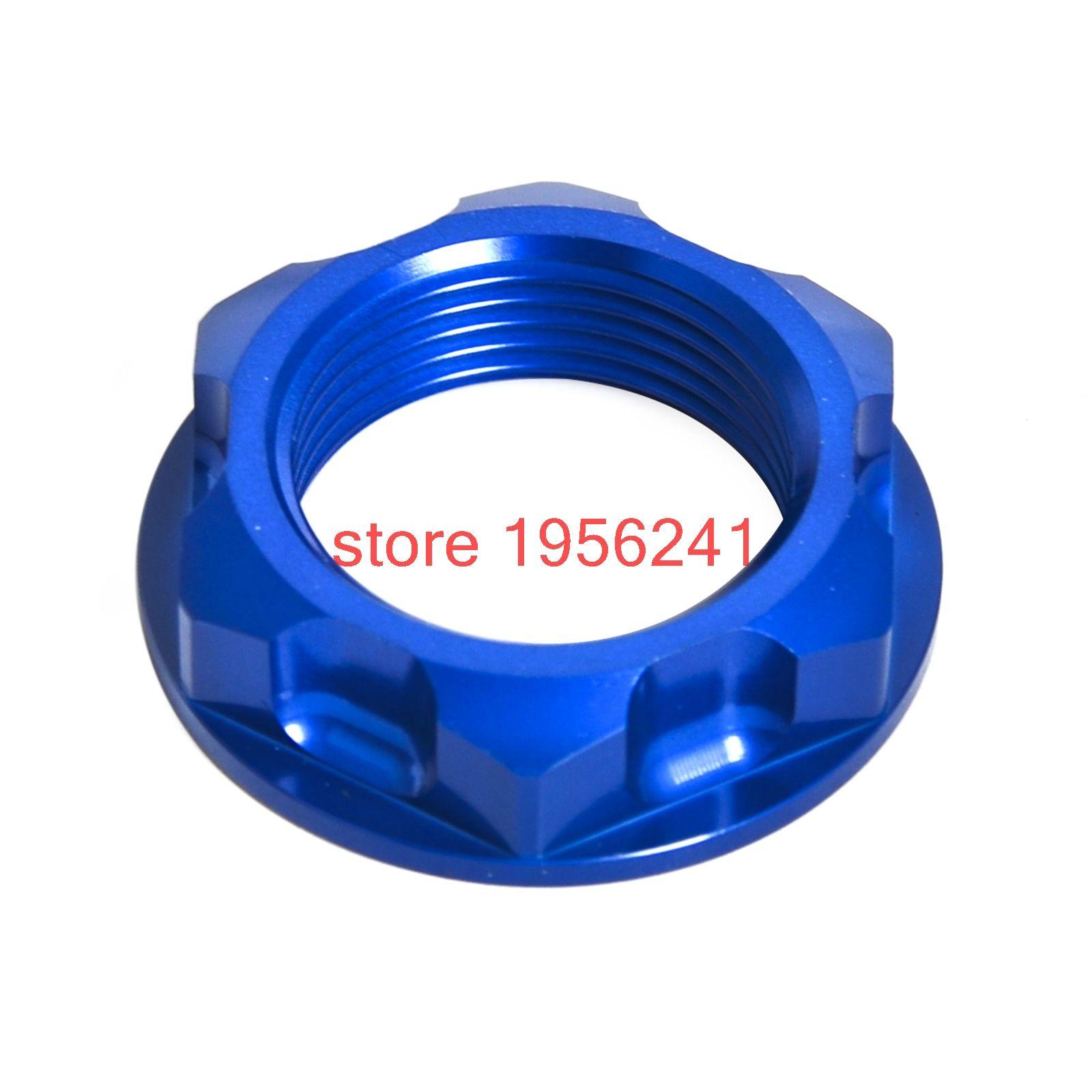 Motorcycle Steering Stem Nut For Yamaha TT250R 1993-1997 WR250R WR250X  WR250 R/X 2007-2017