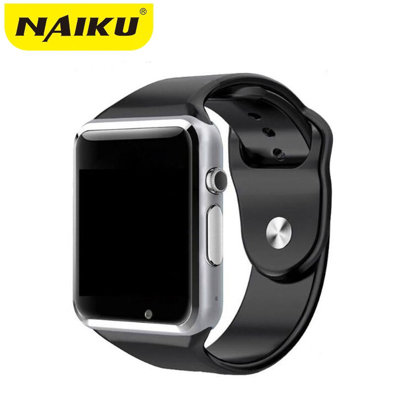 Factory A1 Smart Watch With Passometer <font><b>Camera</b></font> SIM Card Call Smartwatch For Xiaomi Huawei HTC Android Phone Better Than GT08 DZ09
