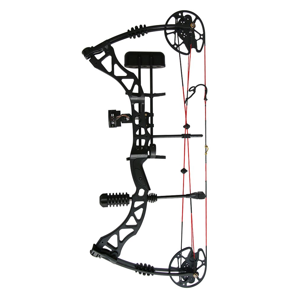35~70 Lbs Adjustable Compound Hunting Bow Full Sets With hunting Accessories