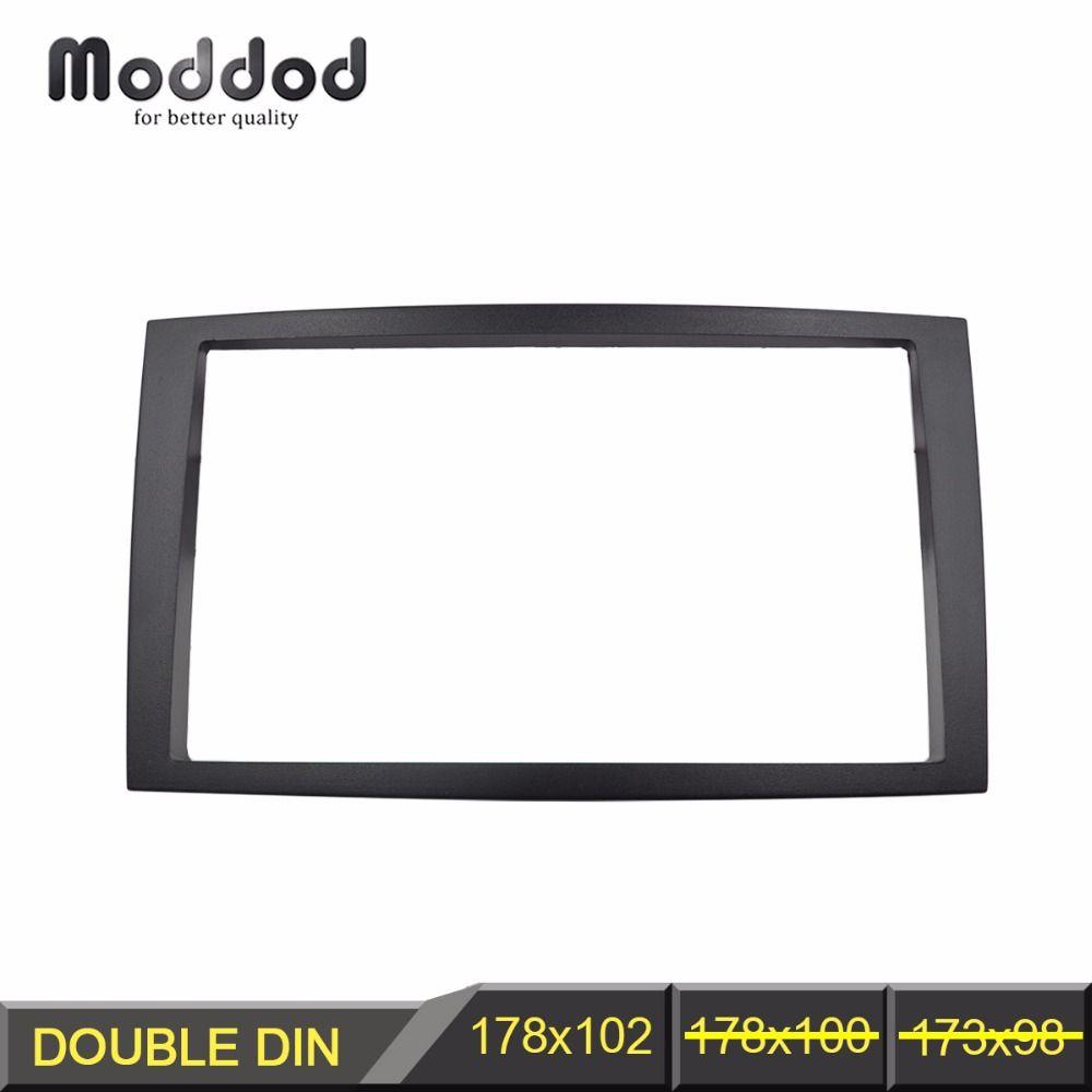 Doppel Din Facia für MAZDA MPV Premacy Radio DVD Stereo CD Panel Dash Montage Installation Trim Fascia Kit Gesicht Rahmen lünette