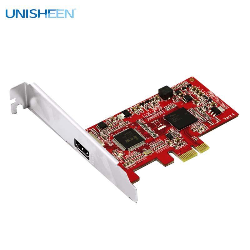 Carte de capture vidéo HD PCIe 1080P30 carte de Capture HDMI vmix wirecast obs streaming en direct youtube facebook