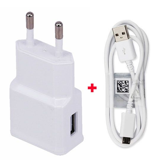2.1A EU PLug Adapter Cell Phone Charger Travel+USB Data Cable For Lenovo A850+ A850 plus,Lenovo A680 A316i A328 S850 S660
