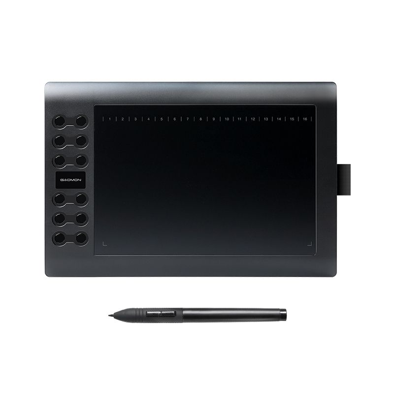 GAOMON M106K - Professional 10 Inches Graphic Tablet for <font><b>Drawing</b></font> with USB Art Digital Tablet 2048 Levels Pen