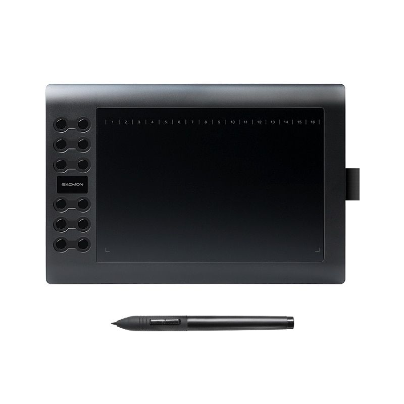 GAOMON M106K - Professional 10 <font><b>Inches</b></font> Graphic Tablet for Drawing with USB Art Digital Tablet 2048 Levels Pen