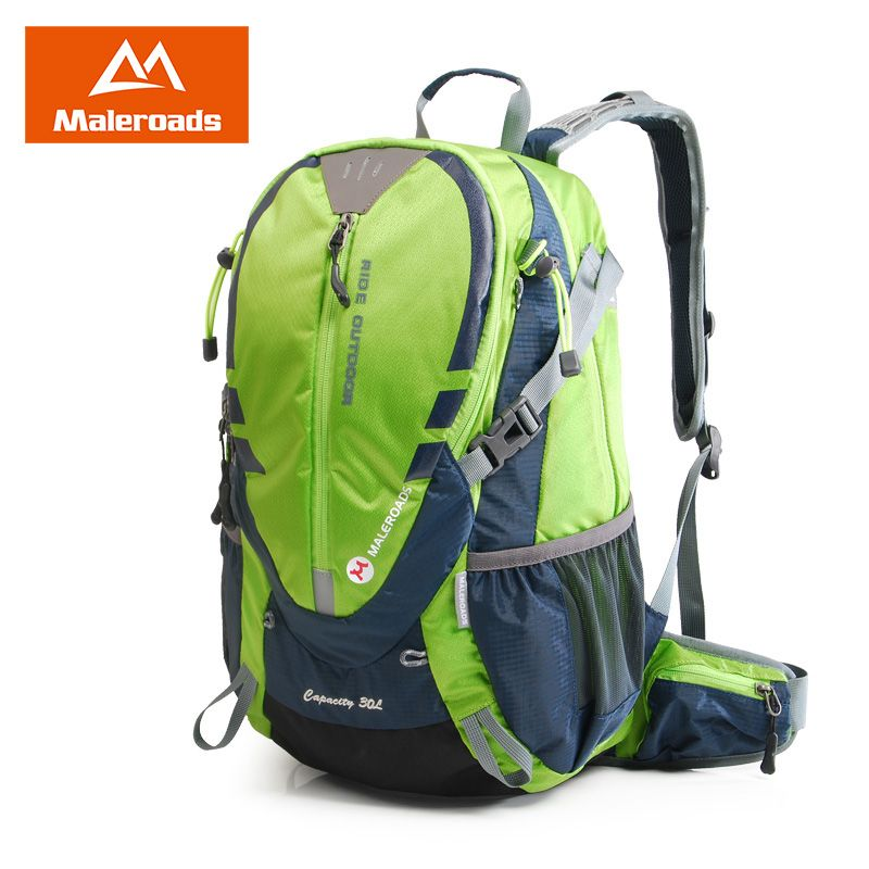 Maleroads Cycling Bakcpack 30L Bicycle Backpack Biking Rucksack Road Riding Packsack for Camping Hiking Traveling Bag Men Women
