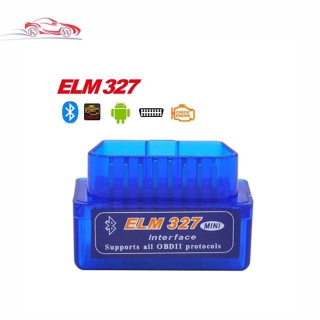 Dernière Version Super Mini ELM327 Bluetooth V2.1 OBD2 Mini Orme 327 Voiture Outil Diagnostique de Scanner Pour ODB2 Protocoles D'OBDII