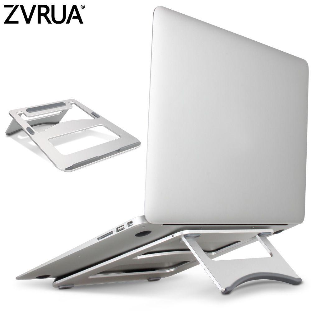 ZVRUA Laptop Stehen Tragbare Tablet Halter Aluminium Laptop Steht Für MacBook Air Mac Book Pro 120 Grad Tablette Montieren Soporte