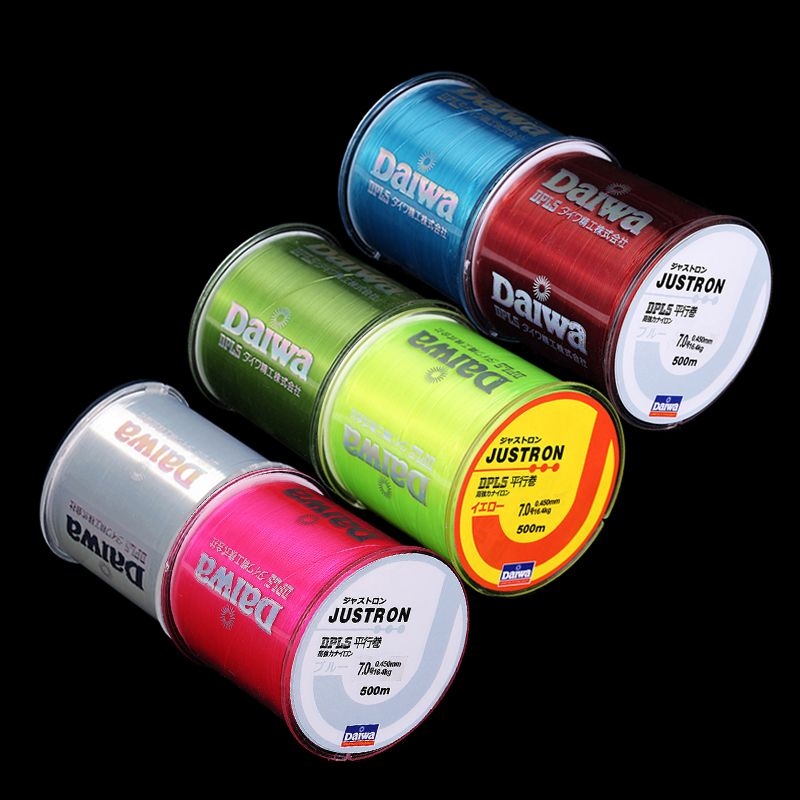 Hot Salell!! fishing line 500m Monofilament Strong Quality Color Nylon Fishing Line 8LB 10LB 12LB 16LB 20LB 25LB